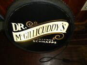 Dr. Mcgillicuddyand039s Light Up Double Sided Sign Bar Beer Game Room Man Cave Rare