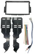 Stereo Radio Double Din Dash Install Kit Wire Harness Fits 2004-2008 Acura Tl