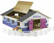 Breyer Horses 59215 Stablemates Deluxe Wood Stable Playset New