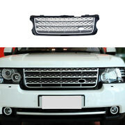 Silver Black Front Bumper Lower Grill Grille Mesh For Range Rover L405 2005-2012