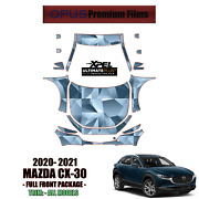 Xpel Ultimate Plus Precut Paint Protection Kit For Mazda Cx-30 2020 - 2021 Full