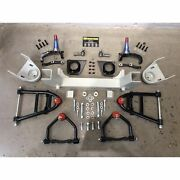 Front End Mustang Ii 2 Ifs Kit For 1948 And Later Packard Fits Wilwood Brakes V8