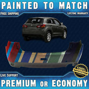 New Painted To Match - Rear Bumper For 2013 2014 2015 Mitsubishi Outlander Sport