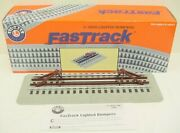 Lionel 6-12035 Fastrack Lighted Bumpers Pack Of 2