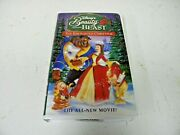 Walt Disney Home Video Vhs Beauty And The Beast The Enchanted Christmas 11529