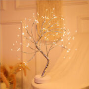 Battery Powered Led Fairy Tree Light Copper Wire Home Room Party Decoration Lamp