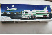 1999 Hess Toy Truck And Space Shuttle With Satellite -new In Box
