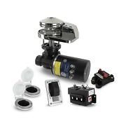 Five Oceans Anchor Windlass Atlantic Horizontal And Pacific Vertical Differ...