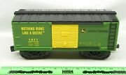 Lionel 11681 John Deere Boxcar 1971 Ready-to-play