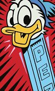 New Donald Duck Pez Poster Print Or Canvas