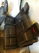 2008 Ford Expedition Funk Master Flex Leather Seats Black Fmf Third Row Seat Set