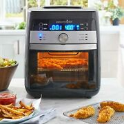 Pampered Chef Deluxe Air Fryer Bakes Rotisseries Dehydrates In Hand/ships Now