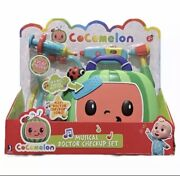 New Cocomelon Feature Roleplay Musical Checkup Case 4pc With Sound