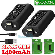 For Xbox One X S Play And Charge Kit Charging Cable +rechargeable Battery Pack