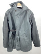 Robert Geller Aw17 Heavy Coat Size 50 Made In Japan Padded Liner 1280 Retail
