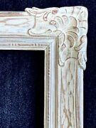 Antique Picture Frame Fits 16 X 20 Whitewash Finish