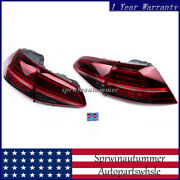 Rear Left Andright Led Outside Taillight Tail Lamp Fit For 14-18 Vw Golf R Gti Mk7