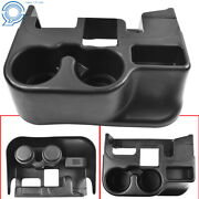 Black Center Console Cup Holder Attachment For 03-12 Dodge Ram 1500/2500/3500