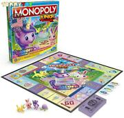 Monopoly Junior Board Game Unicorn Edition Magical Themed Christmas Indoors Gift