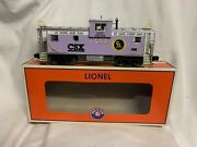 ✅lionel Csx Wide Vision Caboose 6-84132 For O Scale Gauge Diesel Engine Cando