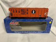 ✅atlas O 3rail Illinois Central Gulf Ps-4427 Low Side Covered Hopper Car O Scale
