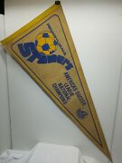 Vtg. Rare Autographed Pennsylvania Stoners A.s.l. National Champions Pennant