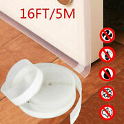 5m Door Seal Strip Weather Stripping Adhesive Silicone Window Bottom Stopper Usa