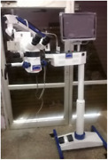 Dental Surgical Microscope Five Step With Lcd Camera And Motorized