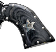 Fits Heritage Arms Rough Rider Grips 6 And 9 Shot .22 Stainless Studs And Stars