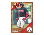 2019 Topps Advent Calendar 4 Ronald Acuna Jr Only 394 Printed