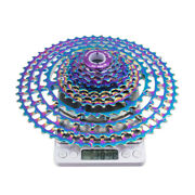 Ztto Al Alloy Mtb 11speed 11-52t Hollow Cassette Rainbow Bicycle Wide Ratio Cogs