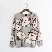 Peanuts Snoopy Sibling Love Women's Sweater - Peanuts Apparel Collection