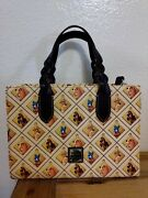Dooney And Bourke Disney Lady And The Tramp Satchel Crossbody Tote Excellent