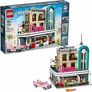 Lego 10260 Creator Expert Downtown Diner Modular Building Brand New Sealed