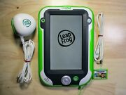 Leapfrog Leappad Ultra W/gel Case, Oem Cable, Charger And Case - Green