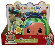 Cocomelon Musical Doctor Checkup Set Case 4 Pieces New Toy--htf And Ships Out Fast