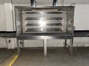 Open Stainless Steel Basic Chemical Fume Hood 2/ Safety Lights
