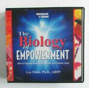 Nightingale Conant The Biology Of Empowerment Lee Pulos 8 Cds + Cd Rom Audiobook