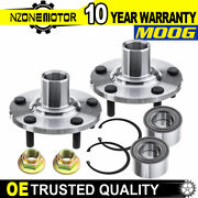 Moog Front Wheel Hub And Bearing Set For Toyota Camry Solara Lexus Rx300 Awd 4wd
