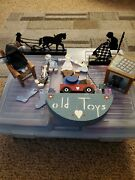 Pieces Of Vintage Handmade Wooden Toys Amish Figures