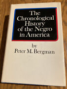 The Chronological History Of The Negro In America Peter Bergman Hardcover Book
