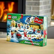 Lego City 2020 Advent Calendar 60268 With City Play Mat 342 Pieces New