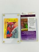 Stan Lee Signed Autograph 1995 Overpower Card Rare Coa Jsa 611811 Marvel