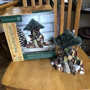 Dept 56 North Pole Woods Trim-a-tree Factory Retired In Box