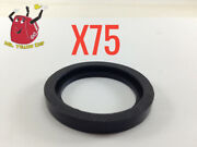 75 New Rubber Gaskets Gas Can Spout Gott Rubbermaid Blitz Wedco Scepter Eagle