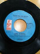 1973 King Diamond A Message To The Black Woman/thats All She Wrote Power House