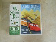 Disney Parks Signature Puzzle Cars Land Racers 5th Anniversary 1,000 Pieces New