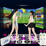 Led Light Dynamic Dancing Mat Blanket Double Players Computer Wireless Slimming