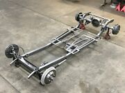 5-12 Model A And T Ford Coupe, Sedan, Pickup, Roadster Hot Rod Rolling Chassis