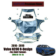 Xpel Ultimate Plus Precut Paint Protection Kit For Volvo Xc90 R-design 16 - 2019